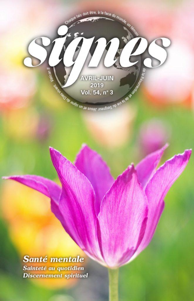 Extraits de la revue Signes avril – juin 2019